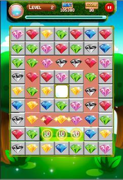 Diamond Jewel Matching3 screenshot 1