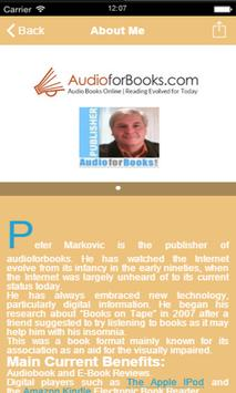Audio For Books apk screenshot
