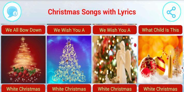 Christmas Songs with Lyrics apk screenshot