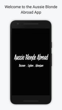 Aussie Blonde Abroad poster