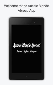 Aussie Blonde Abroad apk screenshot
