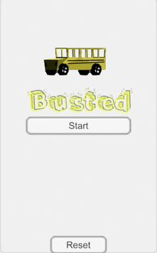 Busted 3D poster