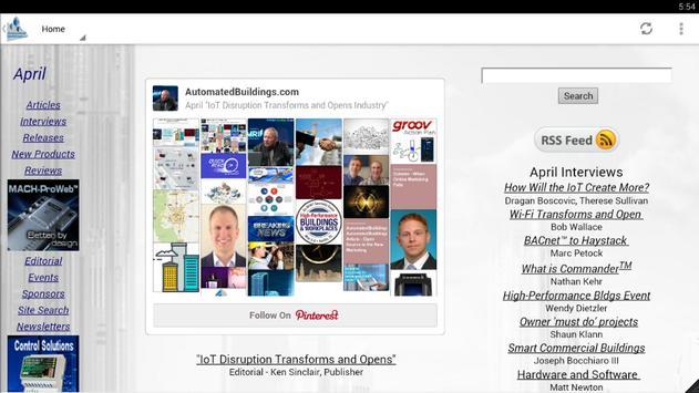 AutomatedBuildings.com screenshot 1