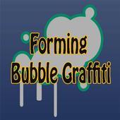 Forming Bubble Graffiti icon