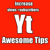 Awesome YT Tips - Increase Views + Subs +WatchTime icon