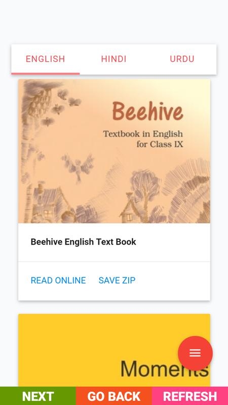 beehive book of 9th class