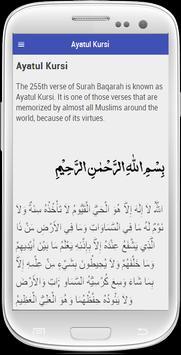 Ayatul Kursi English Free poster