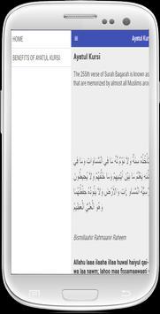 Ayatul Kursi English Free apk screenshot