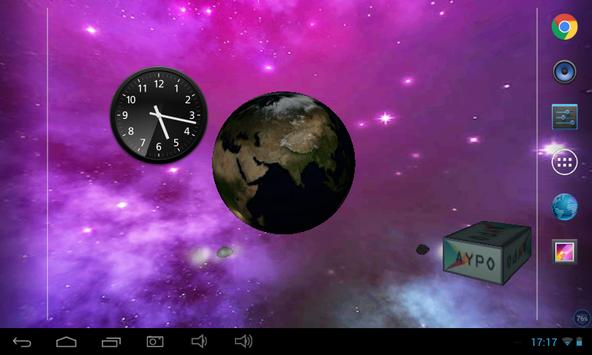 Earth Astroid Live Wallpaper apk screenshot