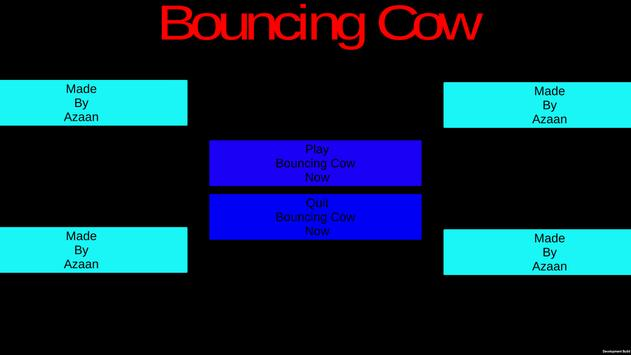 Bouncing Cow poster