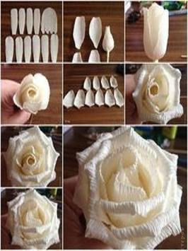 How To Make Paper Flowers screenshot 1