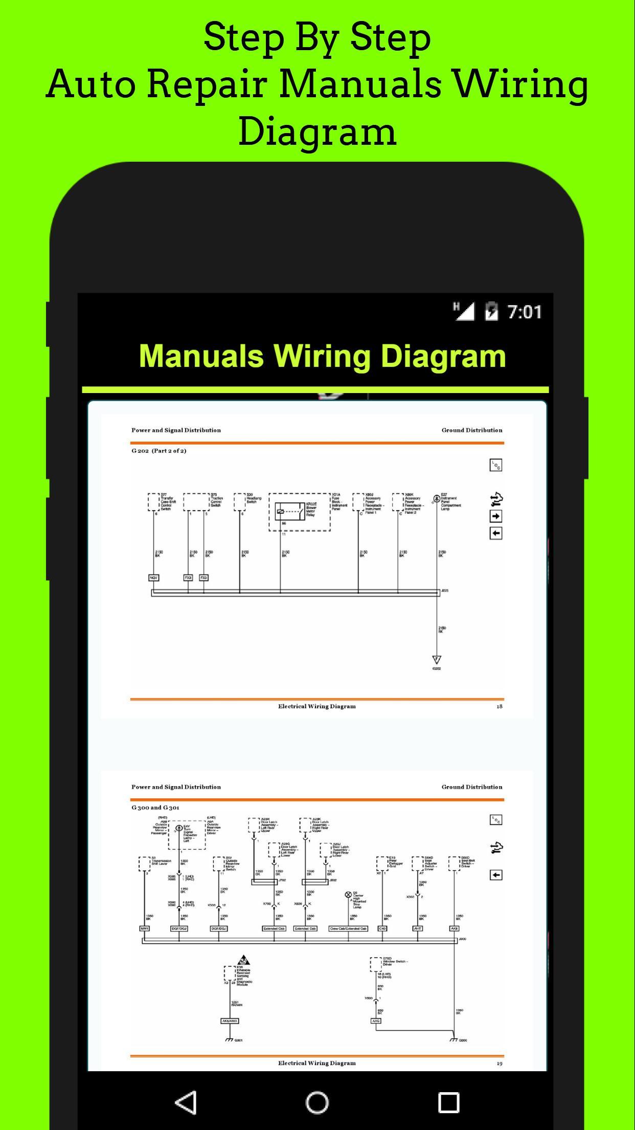 auto repair manuals wiring diagram screenshot 7