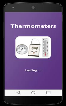 Thermometers poster