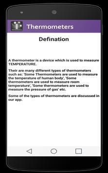 Thermometers screenshot 2