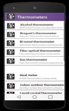 Thermometers screenshot 3
