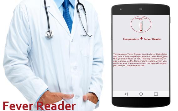 Temperature / Fever Reader apk screenshot