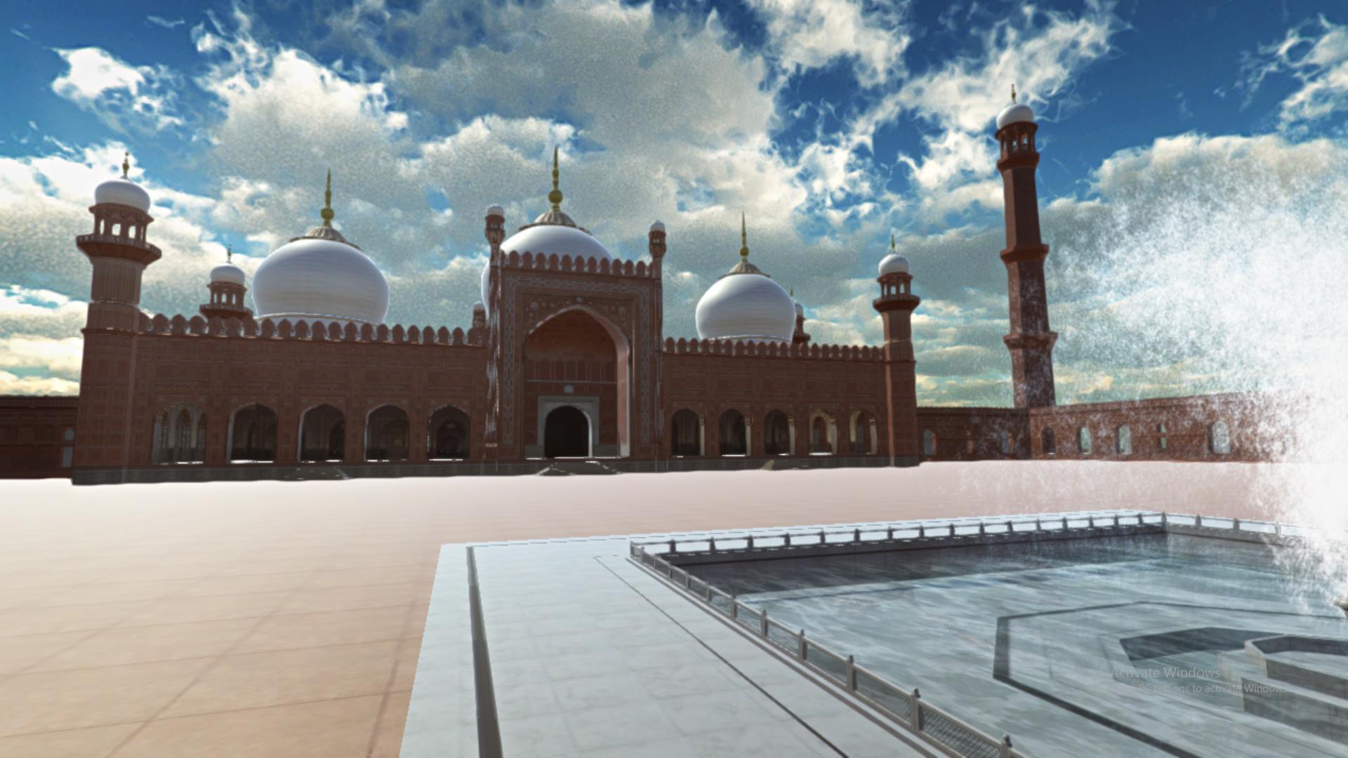 Badshahi Masjid Pakistan 3D for Android - APK Download
