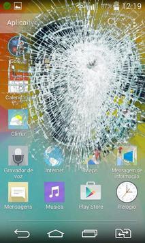 Broken Cracked Screen poster