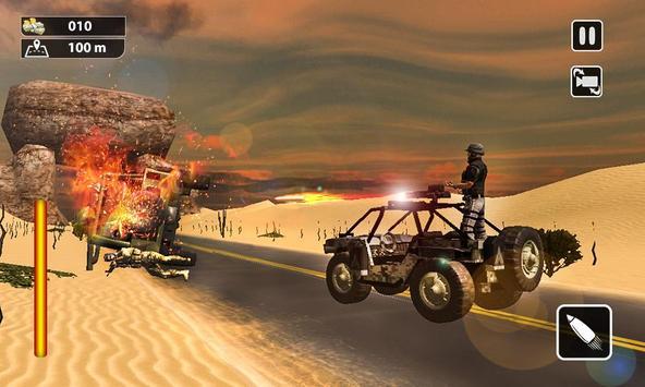 Death Race Shooting Escape apk screenshot