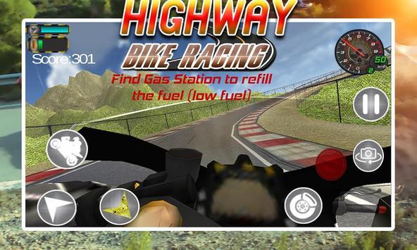 Highway Bike Racing screenshot 1