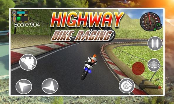 Highway Bike Racing screenshot 2