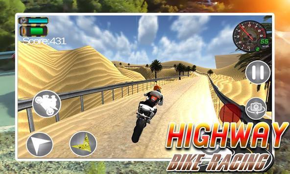 Highway Bike Racing screenshot 4