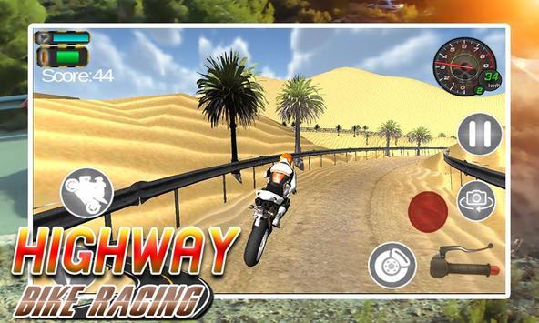 Highway Bike Racing screenshot 8