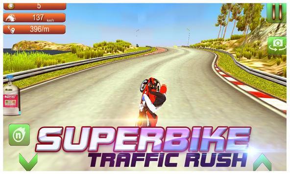 Super Bike Traffic Rush screenshot 1
