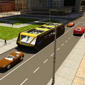 Transit Elevated Bus Simulator icon