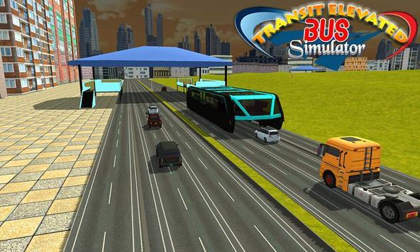 Transit Elevated Bus Simulator screenshot 8