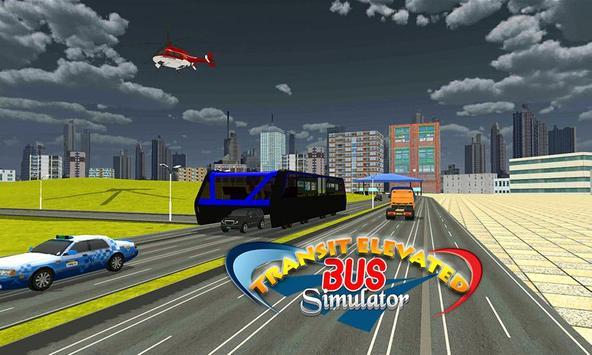 Transit Elevated Bus Simulator screenshot 11