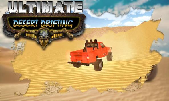 Ultimate Desert Drifting poster