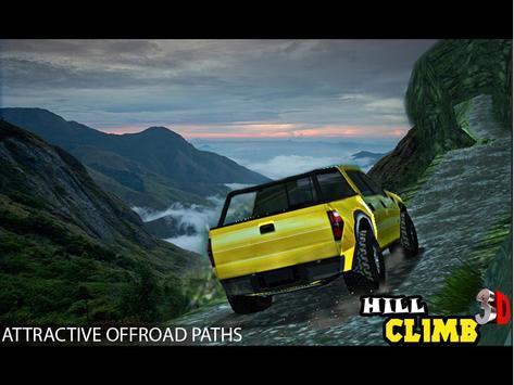Hill Climb 3D Cartaz