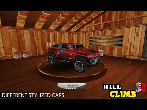 Hill Climb 3D imagem de tela 1