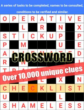 Crossword Puzzle Word Search Games poster