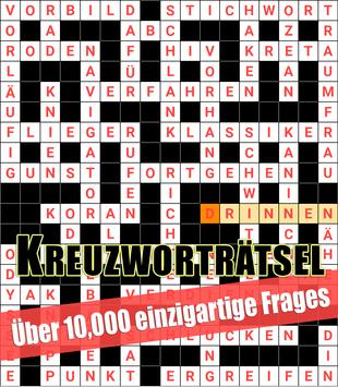 Crossword German: Word Search Puzzles poster