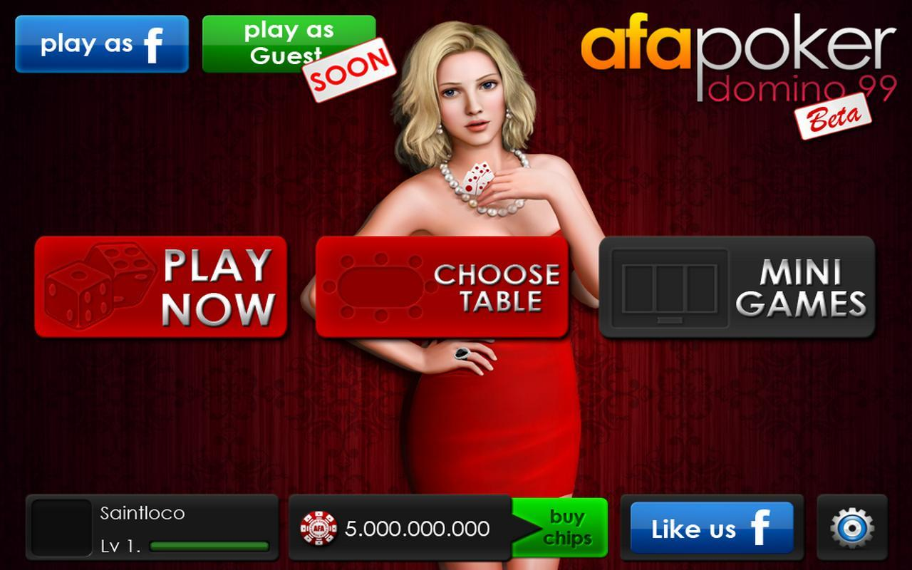 Afa Domino Poker 99 For Android Apk Download