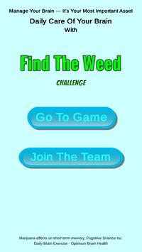 Find The Weed poster