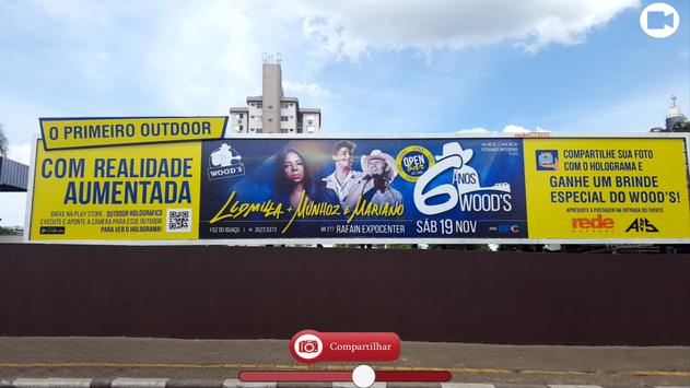 Outdoor Holográfico poster