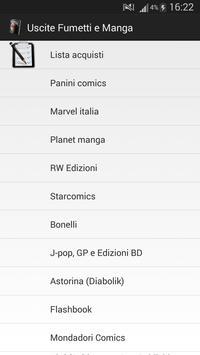 Uscite Fumetti e Manga poster
