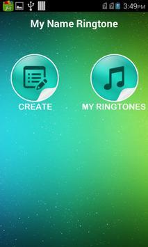 My Name Ringtone apk screenshot
