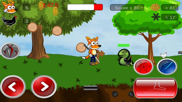 Foxy Warrior apk screenshot