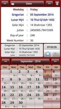 Sun & Moon Calendar screenshot 13