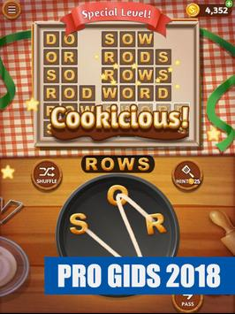 Word Cookies! Gids 2018 FREE poster