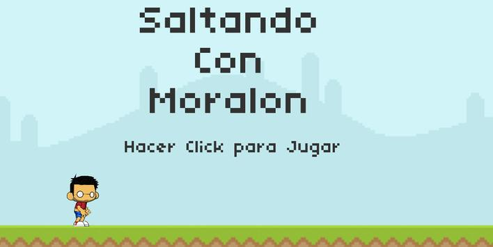 Saltando Con Moralon poster
