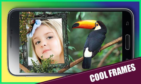 Jungle Animal Photo Frame apk screenshot