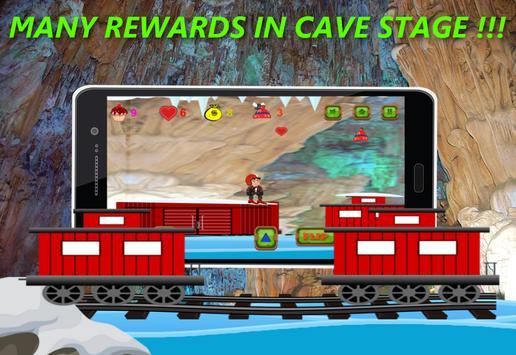 Shivaa Snow Skating Boy :Free screenshot 3