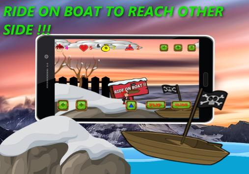 Shivaa Snow Skating Boy :Free screenshot 1