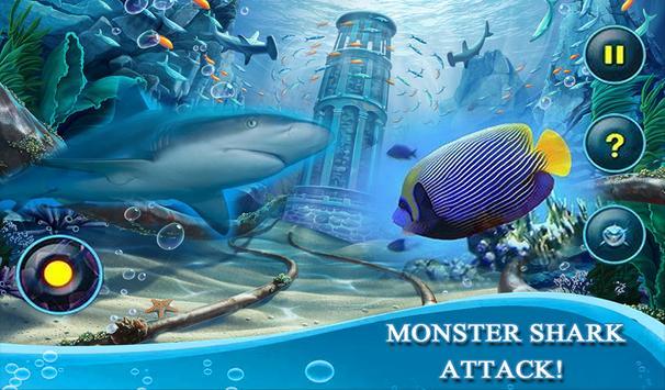 Monster White Shark Revenge 3D screenshot 7