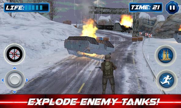 Navy Sniper Winter War Soldier apk screenshot